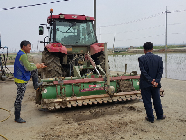 Agricultural machinery introduction photo